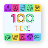 100 tiere